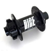 Dice Hub One-One-Zero IS Disc Front BOOST 32 Hole 110mm Wide 15mm Thru Black