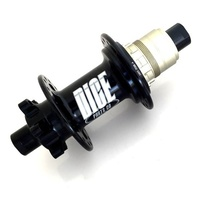 Dice Hub One-Four-Eight IS Disc Rear BOOST 32 Hole 148mm Wide 12mm Thru SHIM Driver BLACK