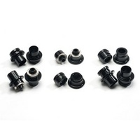 Dice Spare Hub End Cap Set 10mm for One-Three-Five Front Hub