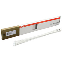 J-Bend AEROLITE 2.0/2.3 x 0.9 WHITE 264mm BOX 20
