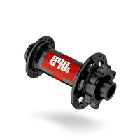 240 Hub IS 6 Bolt BOOST Front 110/20mm 32H Black w/Red Decal (H240BDEXR32SA6730S)