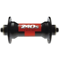 240s Hub RADIAL Front 24H 100mm QR Black Note: No Skewer (H240AAQXR24SA1572S)