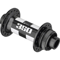 350 Hub Center Lock Front 15mm TA 28H Black with White Decal (H350ACIXR28SA4684S)