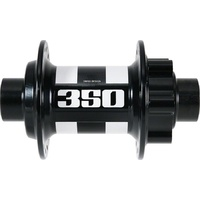350 Hub IS 6 Bolt 15mm Front 28H Black with White Decal (H350ADIXR28SA4675S)