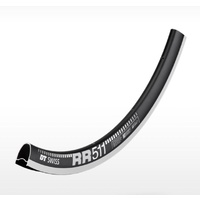 Road RR511 700C 24 Hole Black (w/- Squorx Nipples+Washers)(RCRR51RPN24S011417)