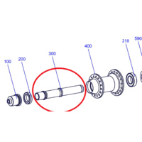 Axle Tricon Rear All Models (HCCXXX00S2181S)