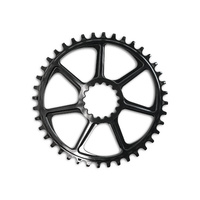 Chain Ring XCX Ultralight Guide Ring Direct BOOST 10/11/12Spd 38T Black (CR3UNA-110) (CTN20)