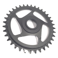 Chainring e*spec Aluminum Direct Mount | 38T | Bosch CX Gen4 | Black (CR4UPA-102) (CTN10)