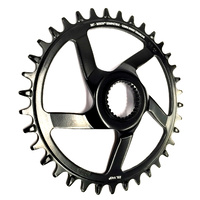 Chainring e*spec Steel Direct Mount | 38T | Bosch CX Gen4 | Black (CR4USA-102) (CTN10)