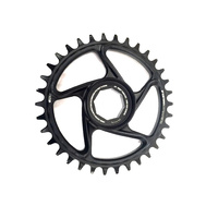 Chainring e*spec Aluminum Direct Mount | 38T | Brose S Mag | Black (CR4UPA-105) (CTN10)