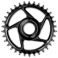 Chainring e*spec Aluminum Direct Mount | 38T | Shimano E8000 | Black (CR4UPA-107) (CTN10)