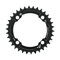 Chain Ring Guide Ring M Profile Narrow/Wide 104 BCD 10/11/12spd 34 Tooth Blk (CR.M-104.34.K)