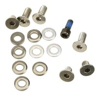 Guide Spare Bolt Kit FreeChucker Steel Hardware incl ISCG bolts/spacers Black (BKT.FCKR)