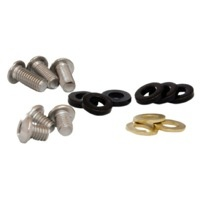 Guide Spare Bolt Kit ISCG 8mm/12mm Button Head & Spacers for STEEL Sgl Ring BKT.ISCG.BTN