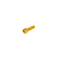 Guide Spare Bolt Only Alloy M5 x 16 Gold suit XCX.ST high & low (ZBLT.516.AL)