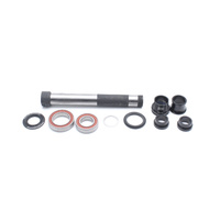 Gen 2 hub Axle | fits all 2017+ non-Boost 142mm hubs | incl. axle, reducer, endcap, endcap inserts, spacer cap (HBS20-102)
