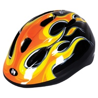 Helmet Netti Pilot Orange Flame Size XS