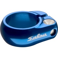 Salsa Seat Clamp Lip Lock (Bolt Up) 35.0mm Blue (ST8656)