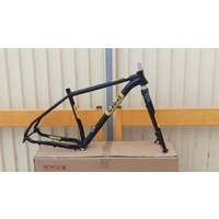 Salted Frameset Blowfish (Frame and Fork) Large Black