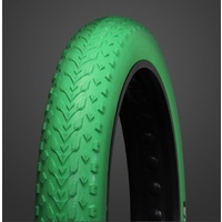Vee Tire Tyre Mission Command FAT 24 x 4.0 Folding 120TPI  GREEN (B32165)