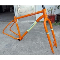 Wayward Frameset Oodnadatta Large 19 inch Orange
