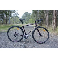 Wayward Frameset Cape York DISC Brake EXTRA-Small Black