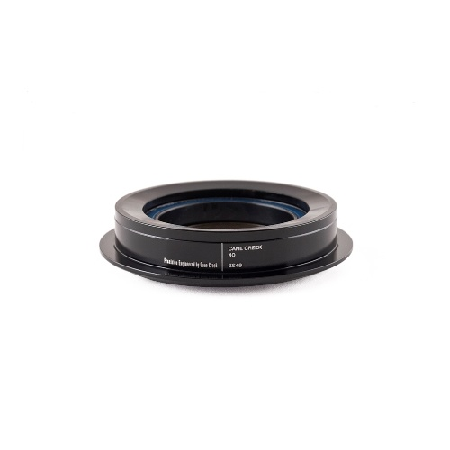 "Bottom Convert 40-Series ZeroStack 49mm 1.5"" to 1-1/8"" Crown Race ZS49/30 Black (BAA0088K)"