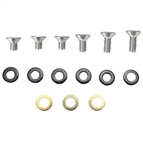 Guide Spare Bolt Kit ISCG 10mm/16mm Flat Head & Spacers DRS & 3RS I05 (ZBKT.ISCG.SHRT.FLT)